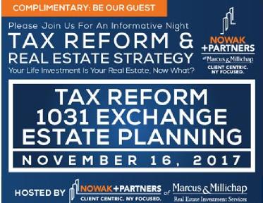 Tax Reform 1031 Exchange Estate Planning